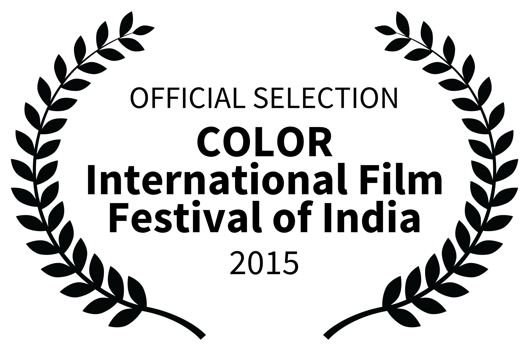 OFFICIAL SELECTION – COLOR International Film Festival of India – 2015