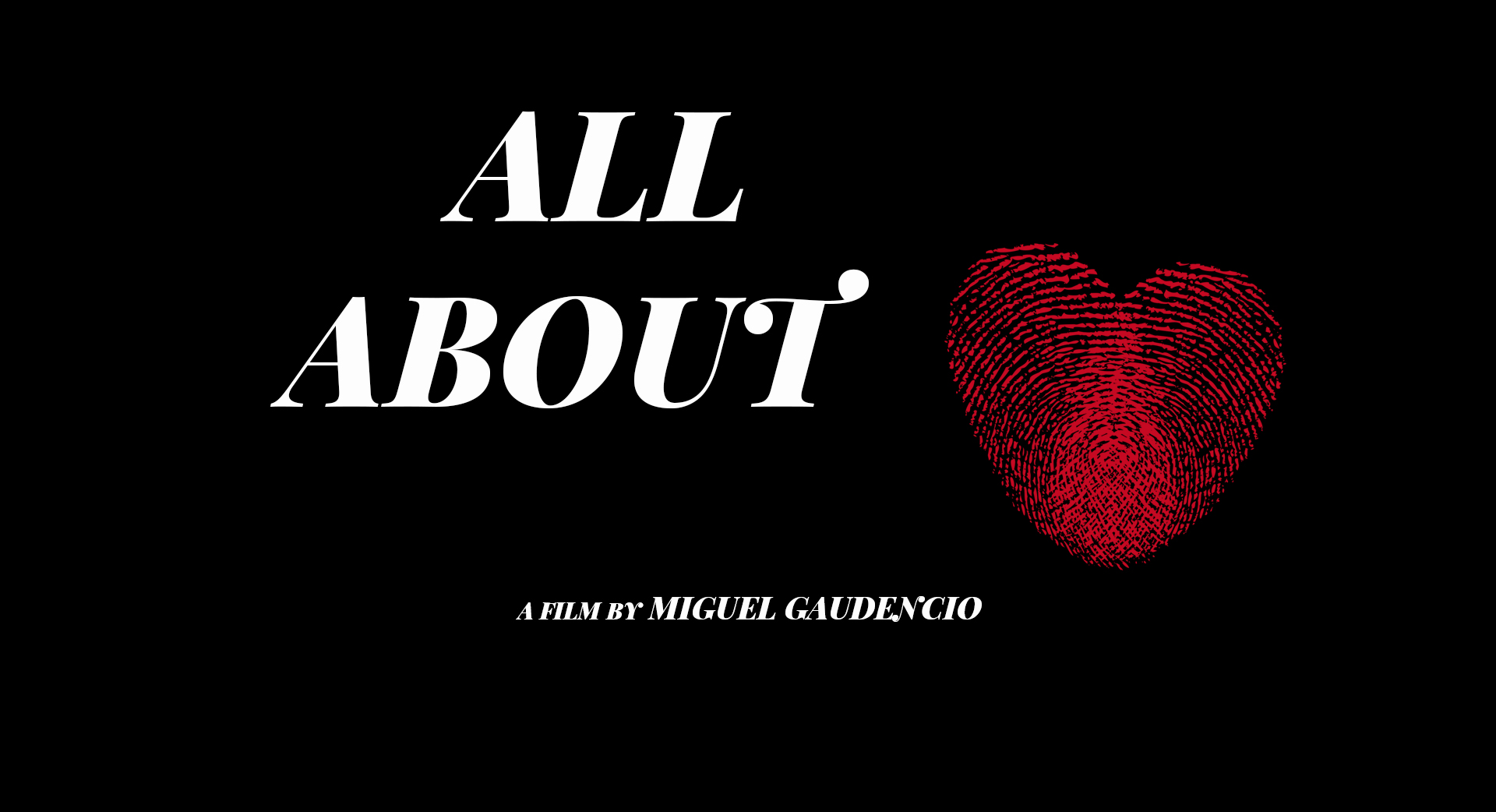 All About Love (2020)